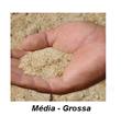 Areia Lavada Média