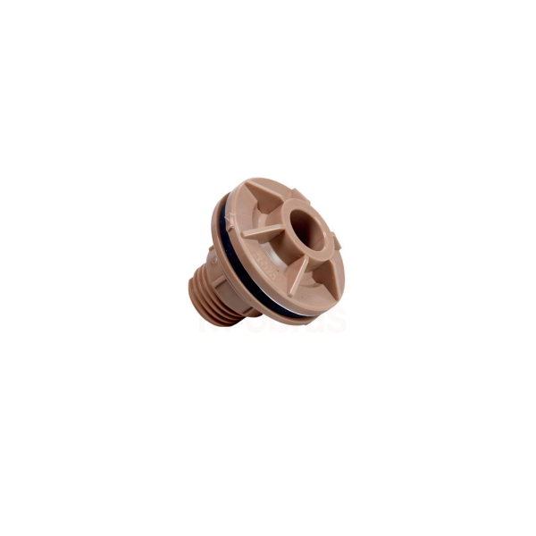 Adaptador para caixa dagua flange - 25mm