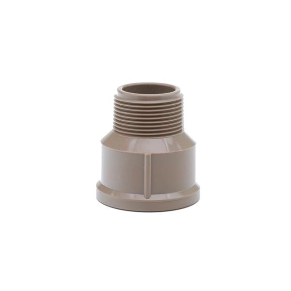Adaptador PVC soldável curto com bolsa e rosca, 60mm x 2, para agua fria