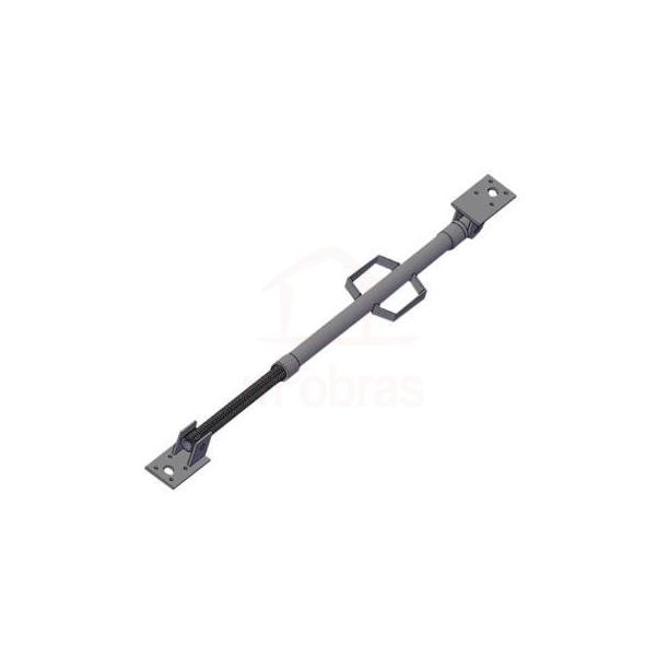 Aprumador metalico de pilar regulável de 1,50 a 2,80 m