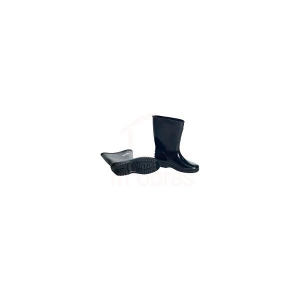 Bota PVC cano curto