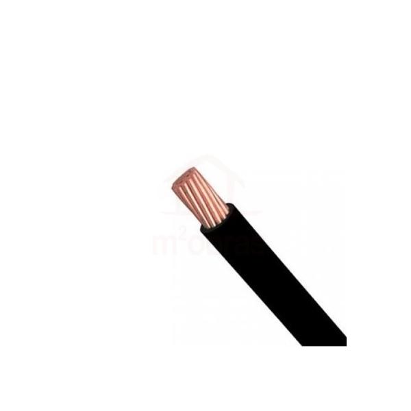 cabo nax semi rigido 1x25mm preto