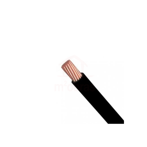 cabo nax semi rigido 1x35mm vermelho