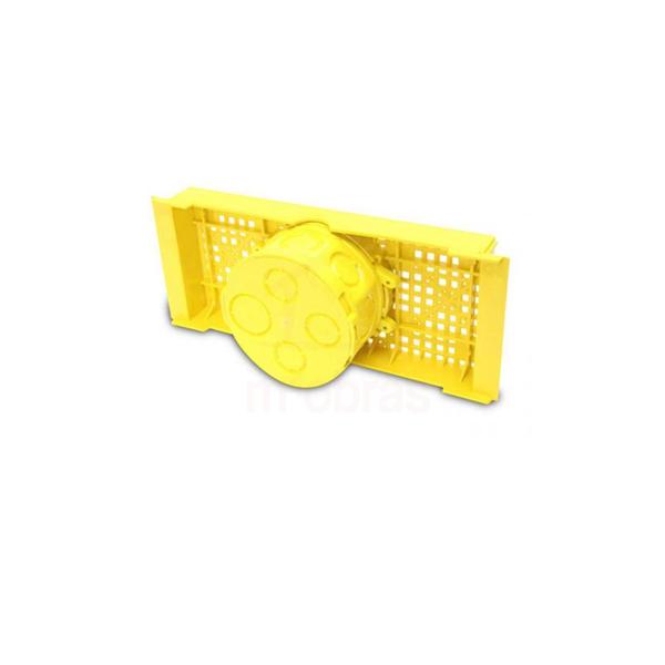 Caixa de Luz de Embutir 3x3 com base