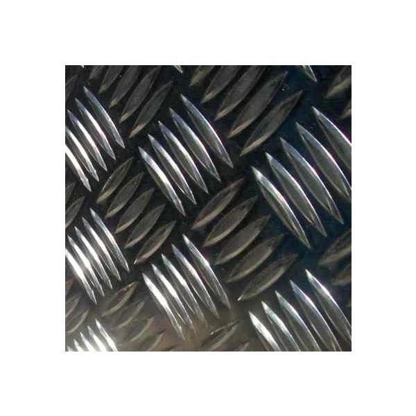 Chapa xadrez alumínio