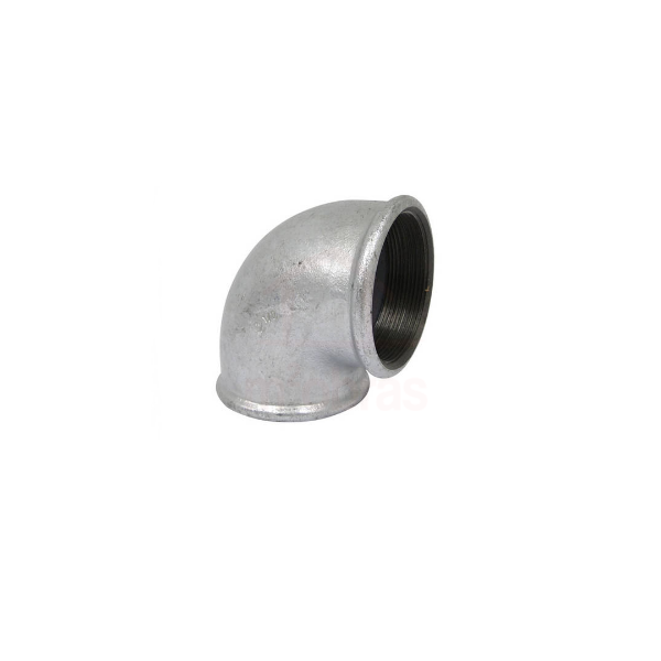 Cotovelo 90º galvanizado 1 1/4  - BSP