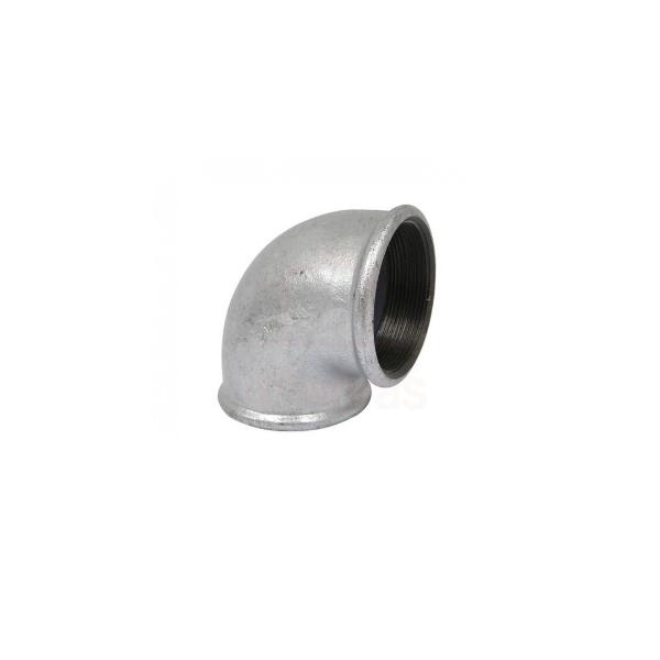Cotovelo 90º galvanizado 1/2  - BSP