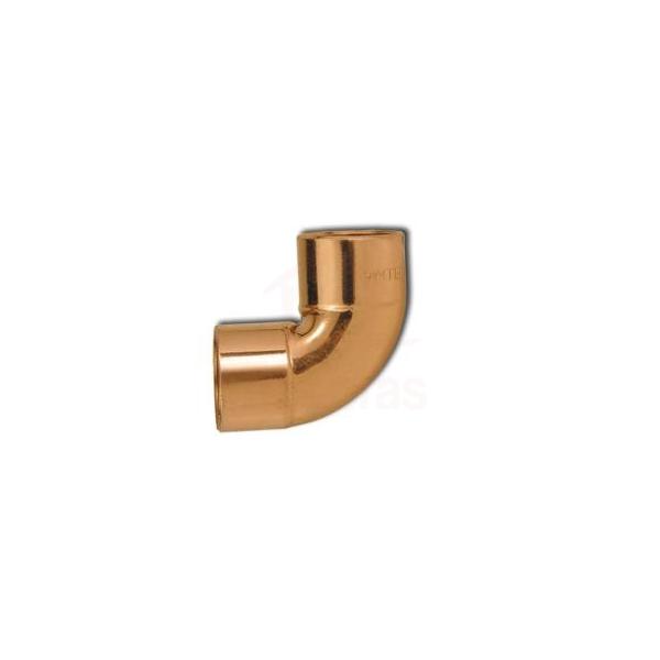Cotovelo de cobre 90G