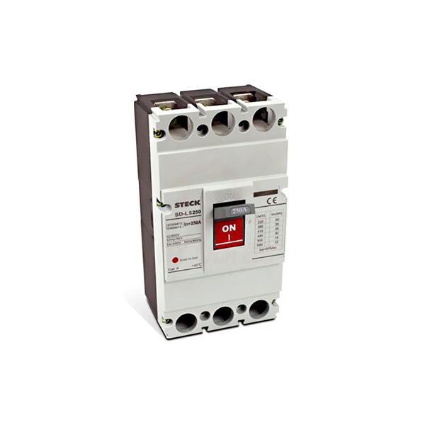 Disjuntor termomagnético tripolar 200 a / 600 v tipo fxd / icc 35 ka