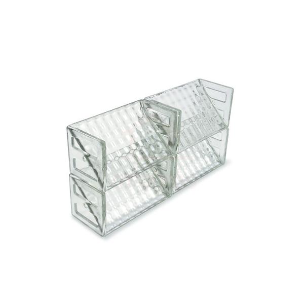 Elemento vazado de vidro cobogó