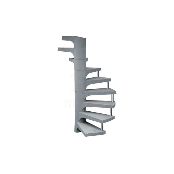 Escada pré-moldada caracol
