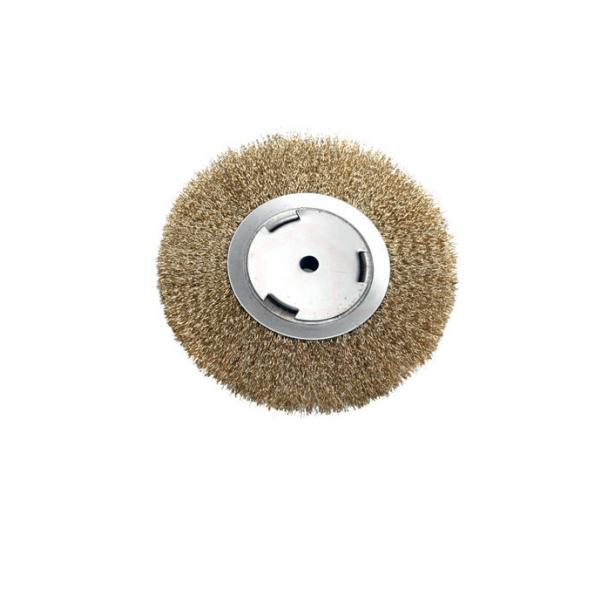 Escova aço circular rotativa