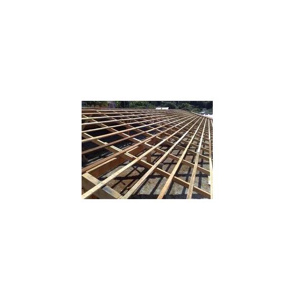 Estrutura do Telhado Madeira ou Ferro