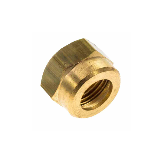 Flange 5/8 unf p/tubo de cobre 3/8