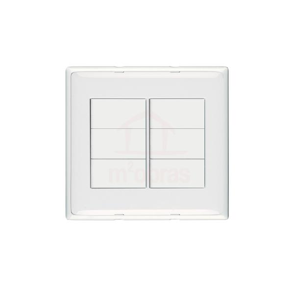 Interruptor 4x4 6 teclas