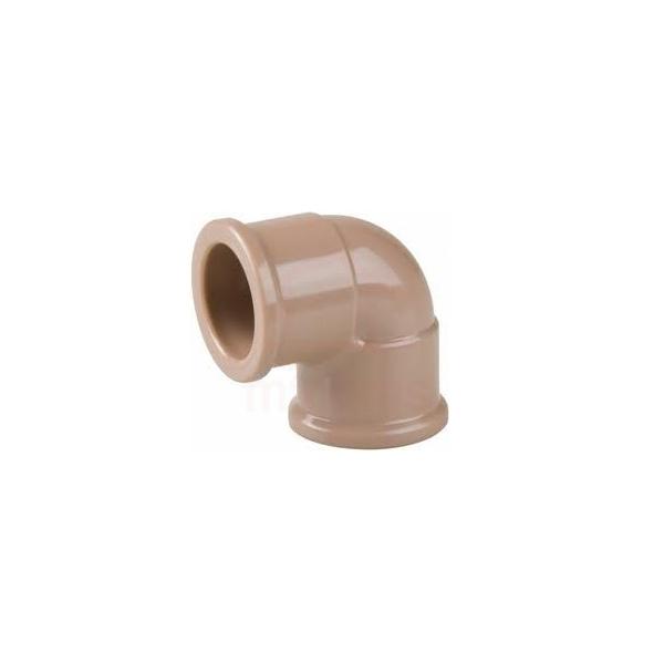 Joelho PVC soldável 90G para água fria 40mm