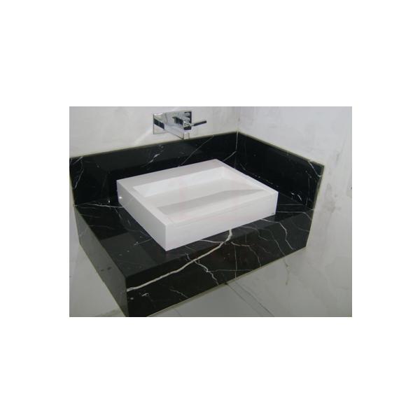 Lavatório - Pia Banheiro em pedra mármore