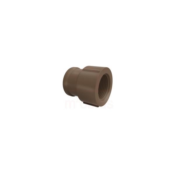 Luva soldável com Rosca 25mm x 3/4