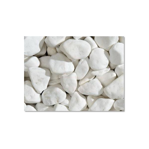 Pedra seixo branca