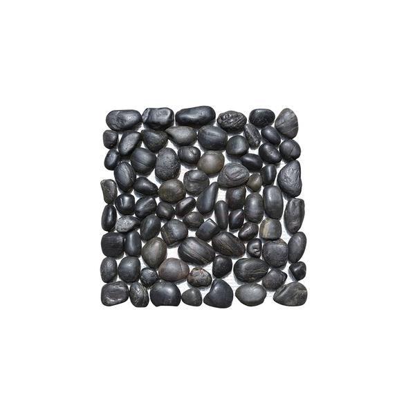 Pedra seixo preta
