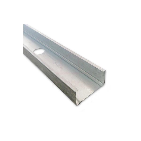 Perfil aço steel frame guia 3m x 7cm