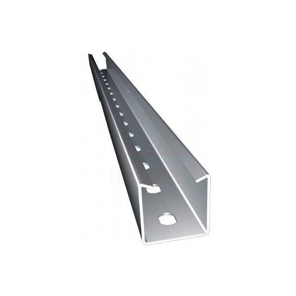 Perfilado perfurado chapa de aço (38x38)mm 6 metros