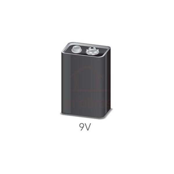 Pilha bateria 9v