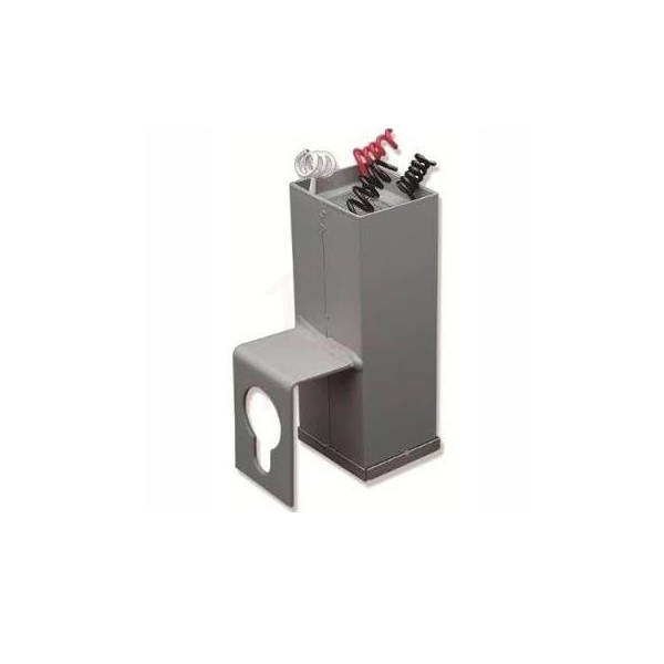 Reator p/ 1 lampada vapor metálico 125w uso ext