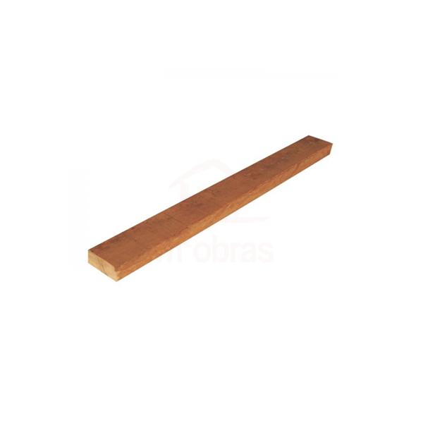 Sarrafo de madeira 2,5 x 5 cm