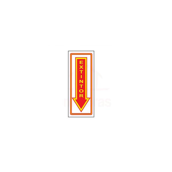 Sinalização extintores