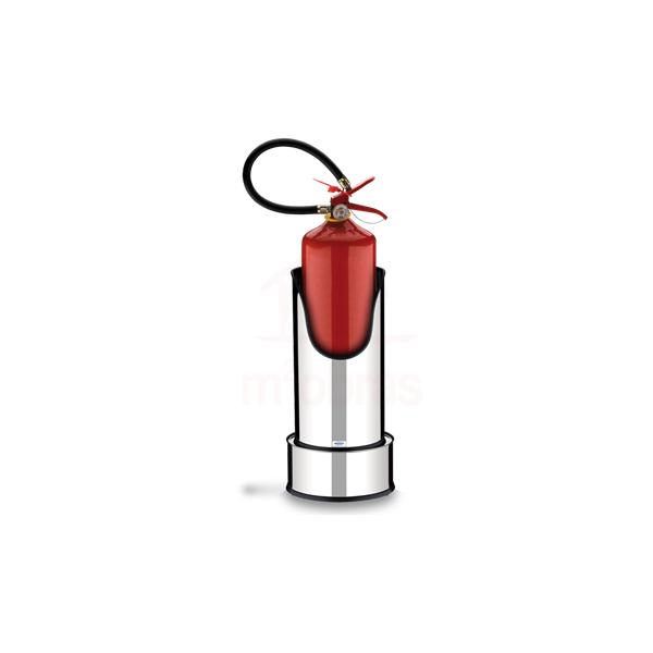 Suporte base extintor de inox