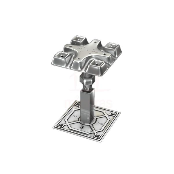 Suporte cruzeta/ pedestal/macaquinho para piso elevado