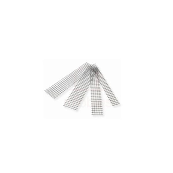 Tela de aço soldada galvanizada/zincada para alvenaria, fio d = *1,24mm, malha 25 x 25mm