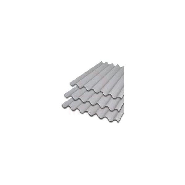 Telha ondulada de fibrocimento 2,44 x 1,10 5mm