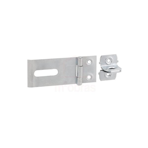 Trava / porta cadeado zincado