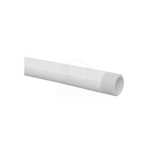 Tubo cano de pvc roscável 1 polegada