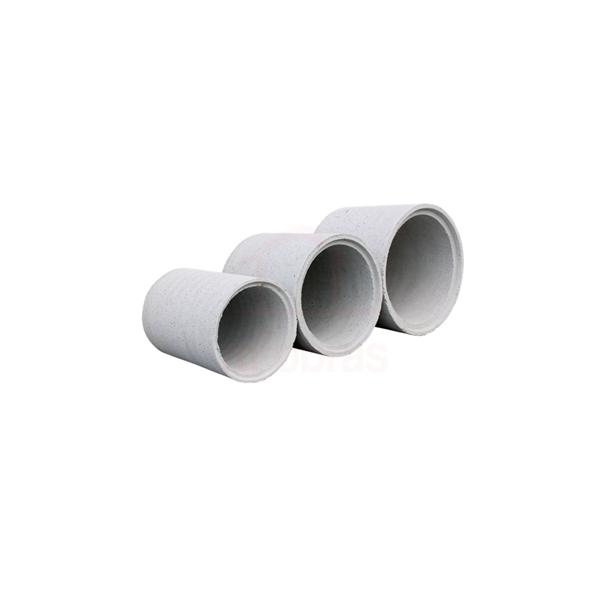 Tubo de concreto armado para águas pluviais