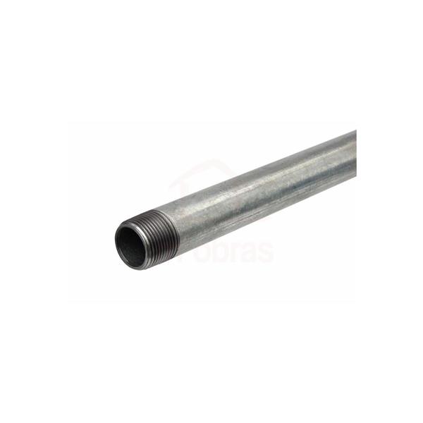 Tubo em aço carbono com costura 1 polegada