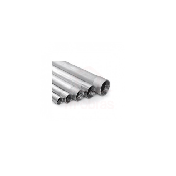 Tubo galvanizado 2 1/2  barra 6m