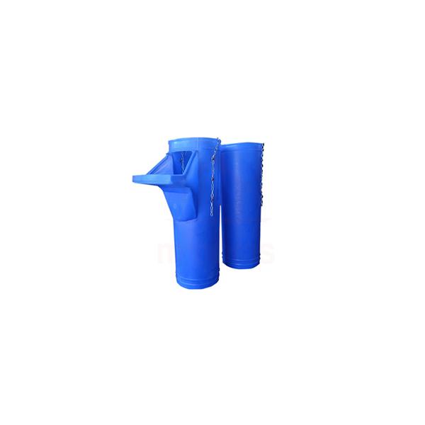 Tubo plástico duto coletor de entulho