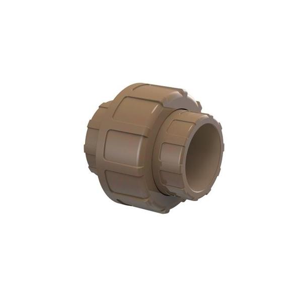 Uniao PVC, soldável, 50mm, para agua fria