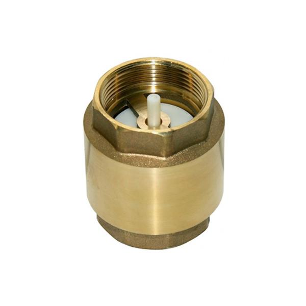 Válvula de retenção vertical de bronze (pn16) 1 1/4 200 psi