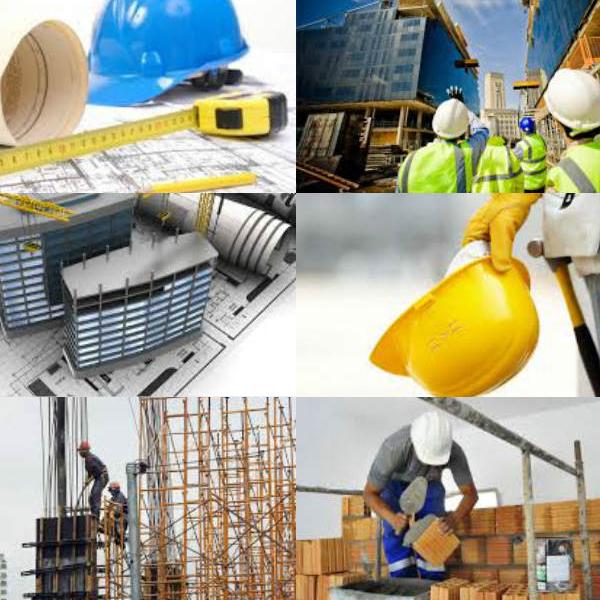 Transporte material de construção vertical