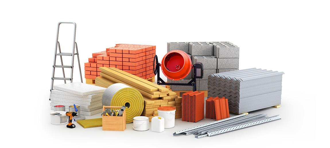 Alguns materiais de construção